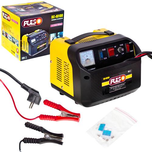Зарядное устройство PULSO BC-40100 6-12V/10A/12-200AHR/стрел.индик.