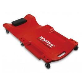 Лежак автослесаря подкатной пластиковый 1020x480x115 мм JCM-0300 TOPTUL