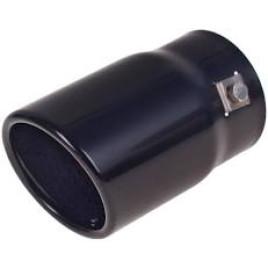 Насадка на глушитель НГ-0008 Bk , внутр.d 70мм/дл. 127мм/2*внеш. d 76мм