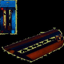 Насадка на глушитель НГ-0024, внутр.d 58мм/дл. 178мм/внеш.d 58мм