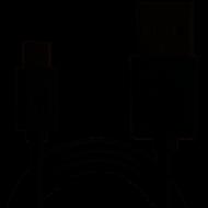Кабель Grand-X USB-micro USB MM-01 Black 2.1A, 1m, 100% медь, защитное металлическое покрытие