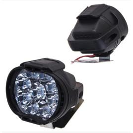 Фара прожектор AUR Mini пластик овал 48786