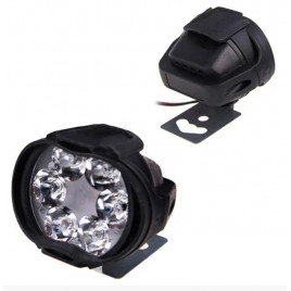 Фара прожектор AUR Mini пластик овал 48787