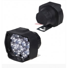 Фара прожектор AUR T9C пластик 48788