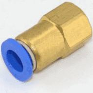 """Соединение цанговое для полиуретановых шлангов PU/PR 8 ммX1/4"""" SPCF08-02 AIRKRAFT"""