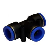 Соединение цанговое для полиуретановых шлангов PU/PR 8 мм SPE08 AIRKRAFT