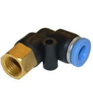 """Соединение цанговое для полиуретановых шлангов PU/PR 12 ммX3/8"""" SPLF12-03 AIRKRAFT"""