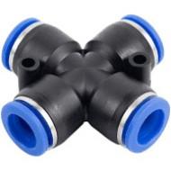 Соединение цанговое для полиуретановых шлангов PU/PR 10 мм SPZA10 AIRKRAFT