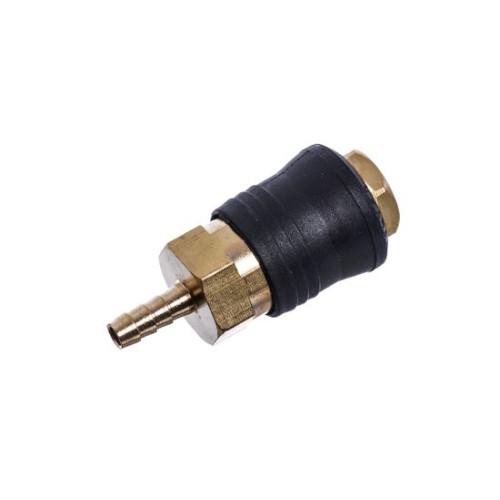 Быстроразъёмное соединение на шланг 6 мм PROFI SE6-2SH AIRKRAFT