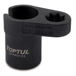"Головка для снятия датчика кислорода 1/2"" 22 мм JDAR0122 TOPTUL"