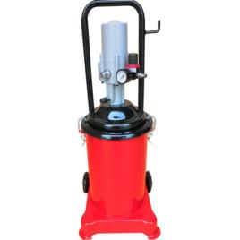 Нагнетатель консистентной смазки с пневмоприводом (15л.) AGL-15 GIKRAFT