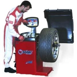 Балансировочный станок вес колеса 70 кг CB67 220V BRIGHT