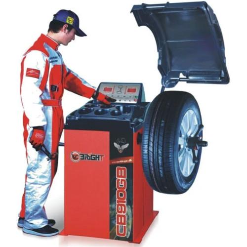 Балансировочный станок вес колеса 70 кг CB66 220V BRIGHT