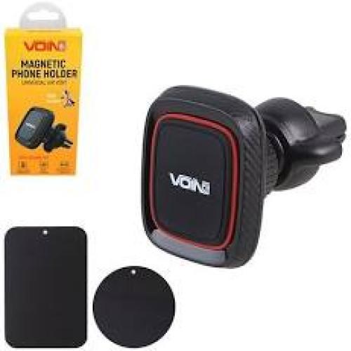 Держатель мобильного телефона VOIN UHV-5002BK/RD магнитный на дефлектор