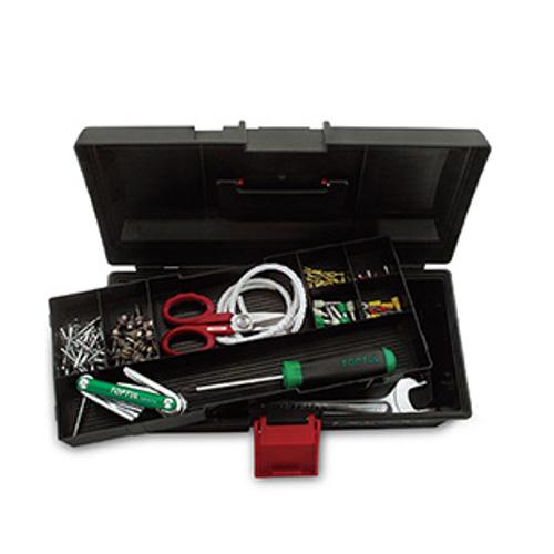 Ящик для инструмента 2 секции (пластик) TBAE0201 TOPTUL