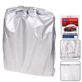 Тент автомобильный CC11106  M серый Polyester 432х165х119 к.з/м.в.дв