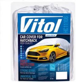 Тент автомобильный HC11106 2XL Hatchback серый Polyester 432х165х125 к.з/м.в.дв