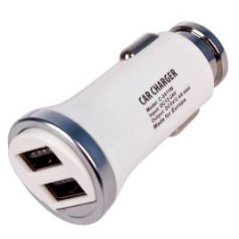 Автомобильное зарядное устройство PULSO C-2411W 2USB (12/24V - 5V 2,4A)