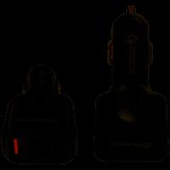 Зарядное устройство Grand-X CH-09 Quick Charge QС3.0 1xUSB3.6V-12V 3A-1,5A, 3xUSB 5V 4,8A